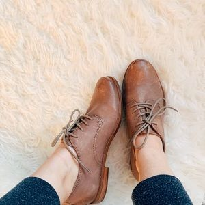 FRYE Anna Oxfords Loafers Ash